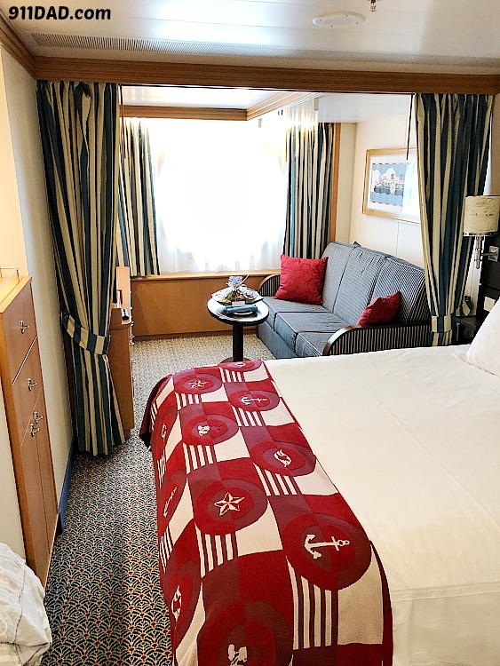 Disney Cruise Room layout