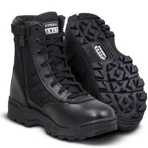 """SWAT Classic 9"""" Side-Zip Women Boots"""