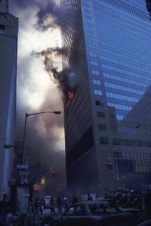 WTC7 terbakar