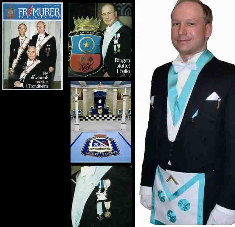 Freemason Anders Behring Breivik