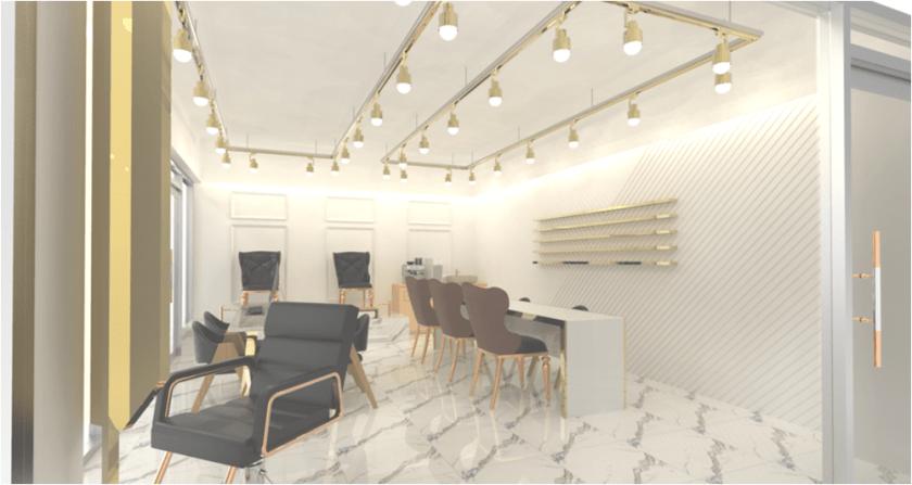 beauty shop interior design