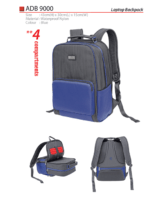 ADB 9000 Laptop Backpack