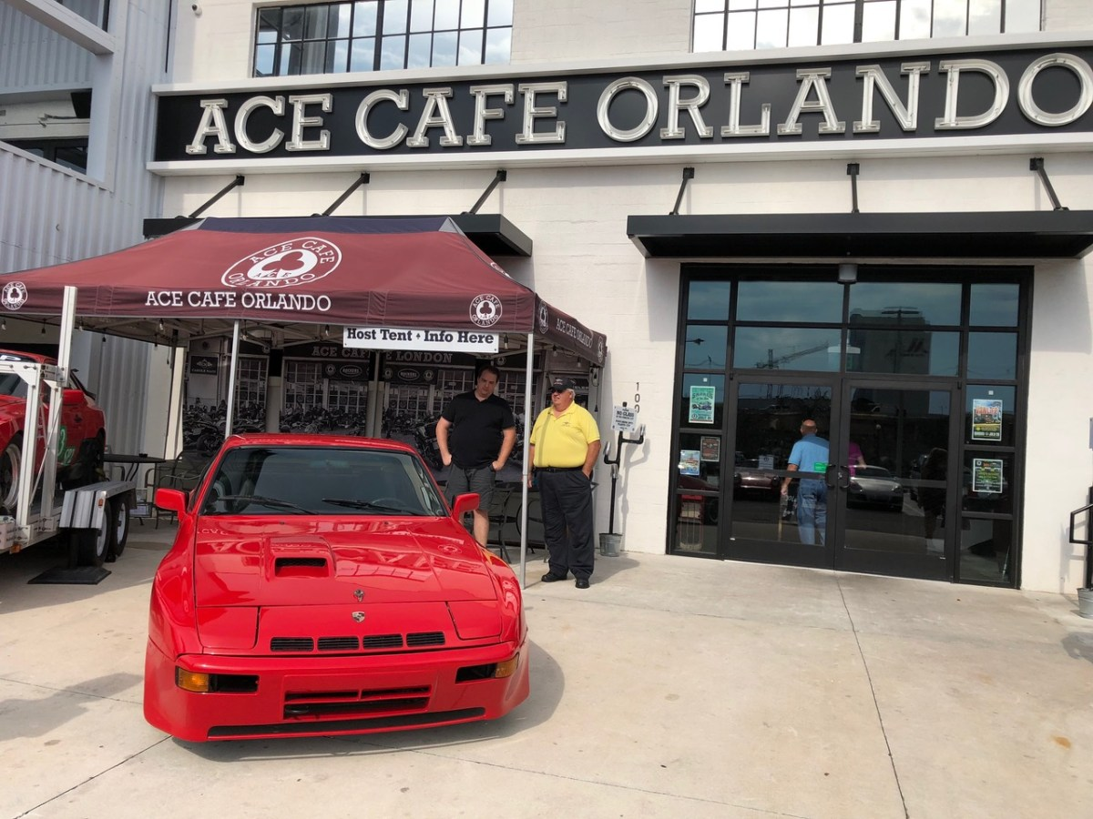 Porsche Night In Orlando Featuring The S Was - Ace cafe orlando car show