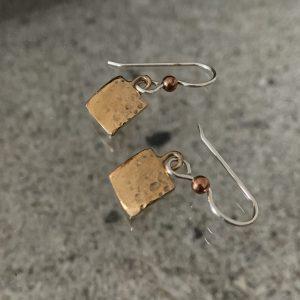 Ocean Earrings Bronze