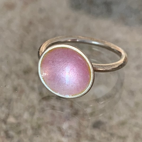 Dots Ring Pink Power