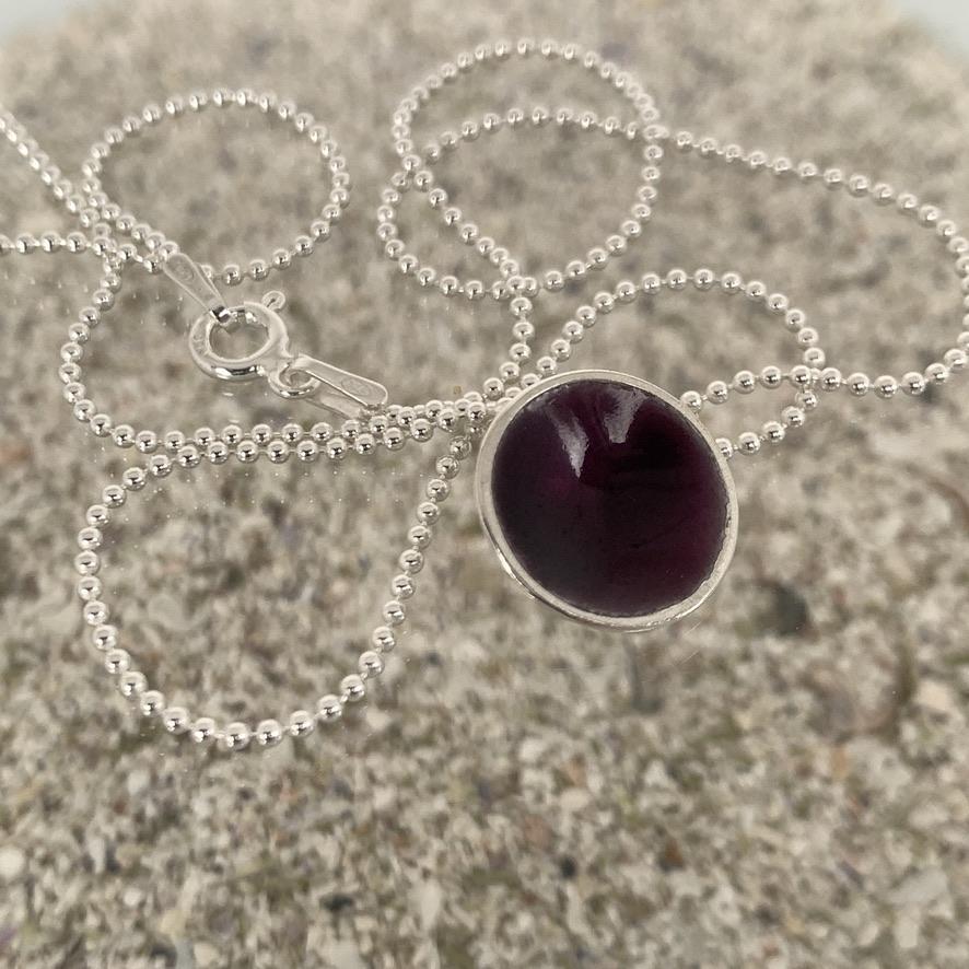Dots Necklace Purple Rain