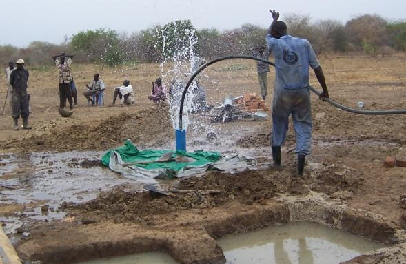 Fresh water from new well