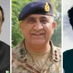 Zardari, Imran felicitate COAS Gen Qamar Javed Bajwa