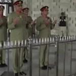 COAS Gen Qamar Javed Bajwa reaches Karachi on one-day visit