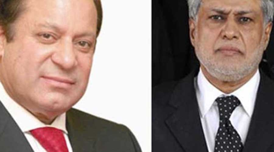 Nawaz, Dar discuss Operation Raddul Fasaad, military courts
