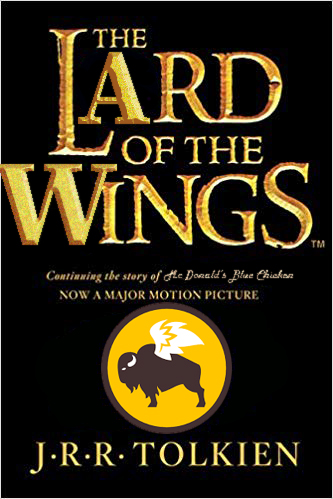 The Lard of the Wings book cover.