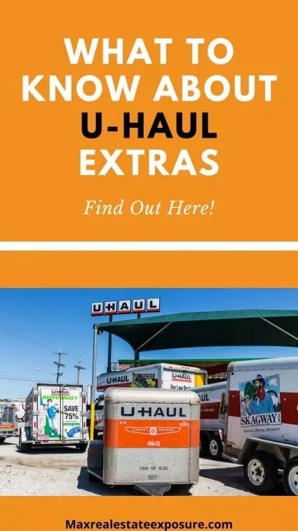 What to Know About U-Haul Extras