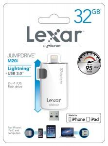 Lexar JumpDrive M20i Packaging