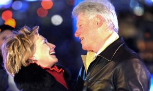 Hillary and Bill are a good example of estrogen - testosterone couple.