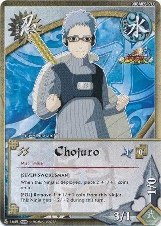 Chojuro Seven Swordsman 1649 Uncommon Naruto