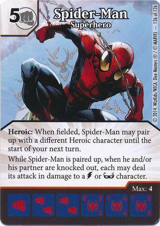 Spider Man Superhero Super Rare Marvel Dice Masters The Uncanny X Men Singles Marvel