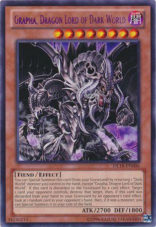 Grapha Dragon Lord Of Dark World DL18 EN006 Rare Yu Gi Oh Promo Cards Yugioh