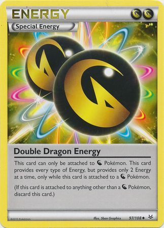 Double Dragon Energy 97108 Uncommon XY Roaring
