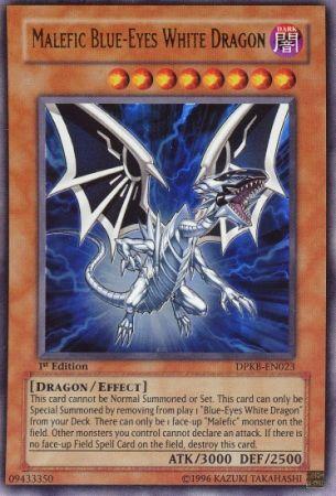 Malefic Blue Eyes White Dragon DPKB EN023 Ultra Rare