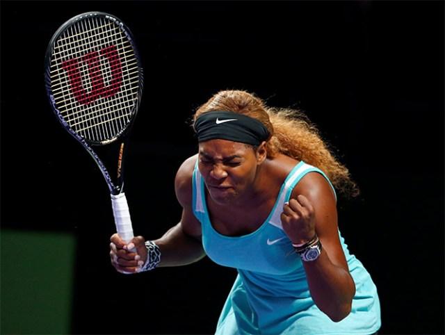 Serena Williams tiene uno de sus peores partidos (Reuters)