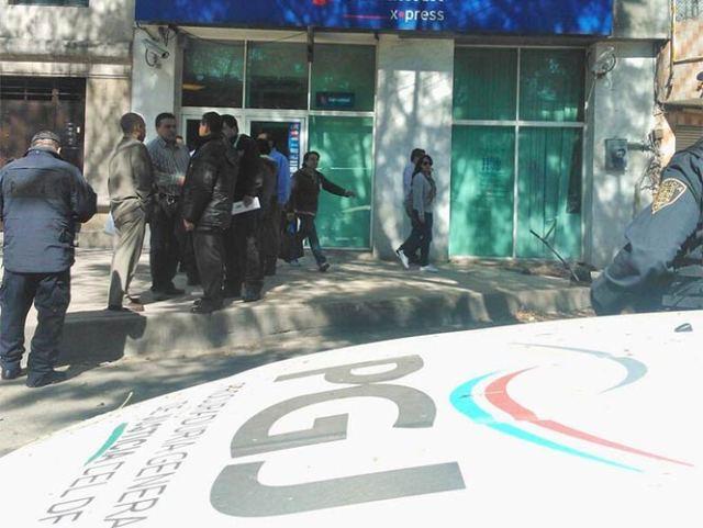 Se registra asalto bancario en una sucursal ubicada en la Avenida 16 de Septiembre, al cruce con la calzada Arenal en la colonia Tepepan. Foto Archivo