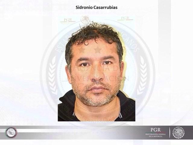 Sidronio Casarrubias Salgado o Santiago Jaurer Cadena