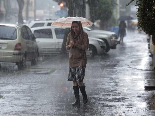 El frente frío número ocho además de ocasionar bajas temperaturas, también propiciará potencial de lluvias muy fuertes.