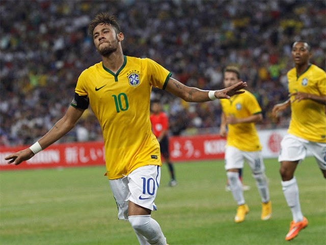 Neymar encabeza a un Brasil con varias 'sorpresas' (Reuters)