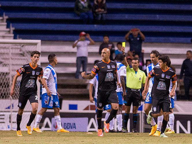 Ariel Nahuelpán suma nueva goles en el Apertura 2014 (Mexsport)