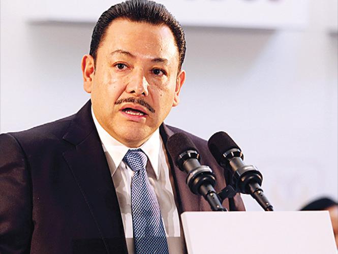 Héctor Serrano, secretario de Gobierno del Distrito Federal
