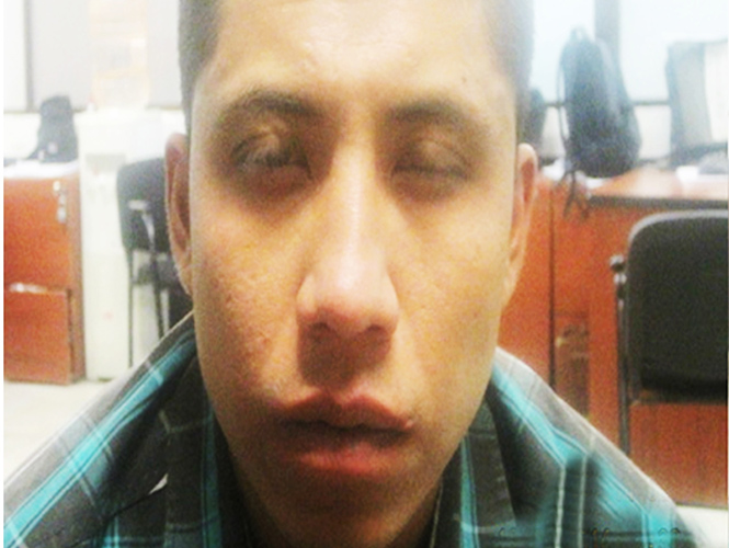 Andrés Cruz Márquez, junto con un cómplice, robó a un taxista en Iztapalapa.