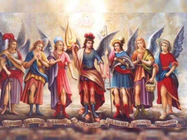 Los siete Arcángeles son: Miguel, Gabriel, Rafael, Uriel, Raguel, Sariel y Remiel. Foto: conociendoalosangeles