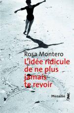L'idée ridicule de ne plus jamais te revoir Rosa Montero