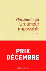 Un amour impossible Roman de Christine Angot