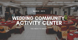 婚禮專業|在活動中心辦婚宴的真實心得與建議,這篇必看!