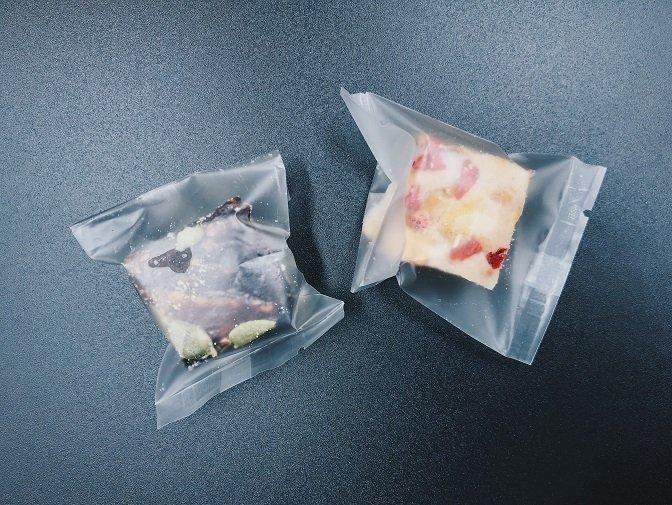 草莓優格與巧克力蔓越莓雪花餅