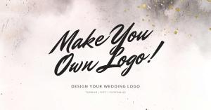 雙11好物開箱|設計精美快速出圖的高CP值淘寶婚禮LOGO設計
