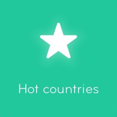 Hot countries 94