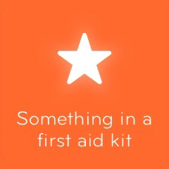 Something in a first aid kit 94