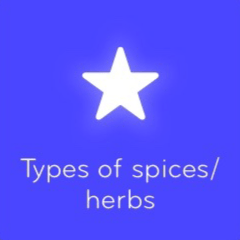 Types of spices herbs 94