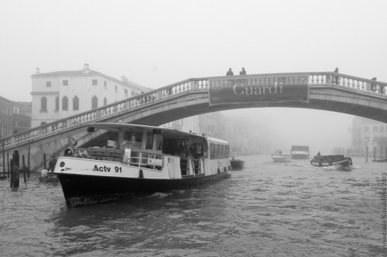 Venice, The Grand Canal, Ponte degli Scalzi