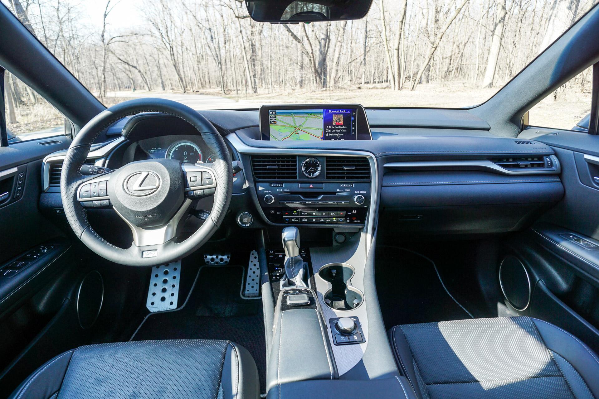 Review 2016 Lexus RX 350 F Sport AWD 95 Octane