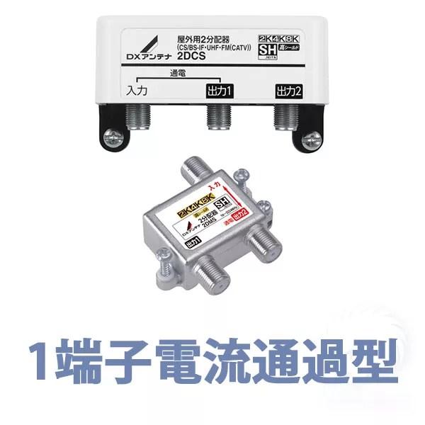 1端子電流通過型分配器