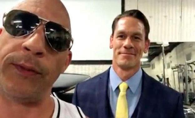 La estrella de WWE John Cena formará parte de 'Rápidos y Furiosos 9'