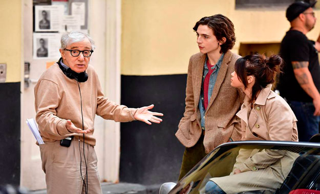 El cineasta Woody Allen habla de su nueva cinta «Día de lluvia en Nueva York»