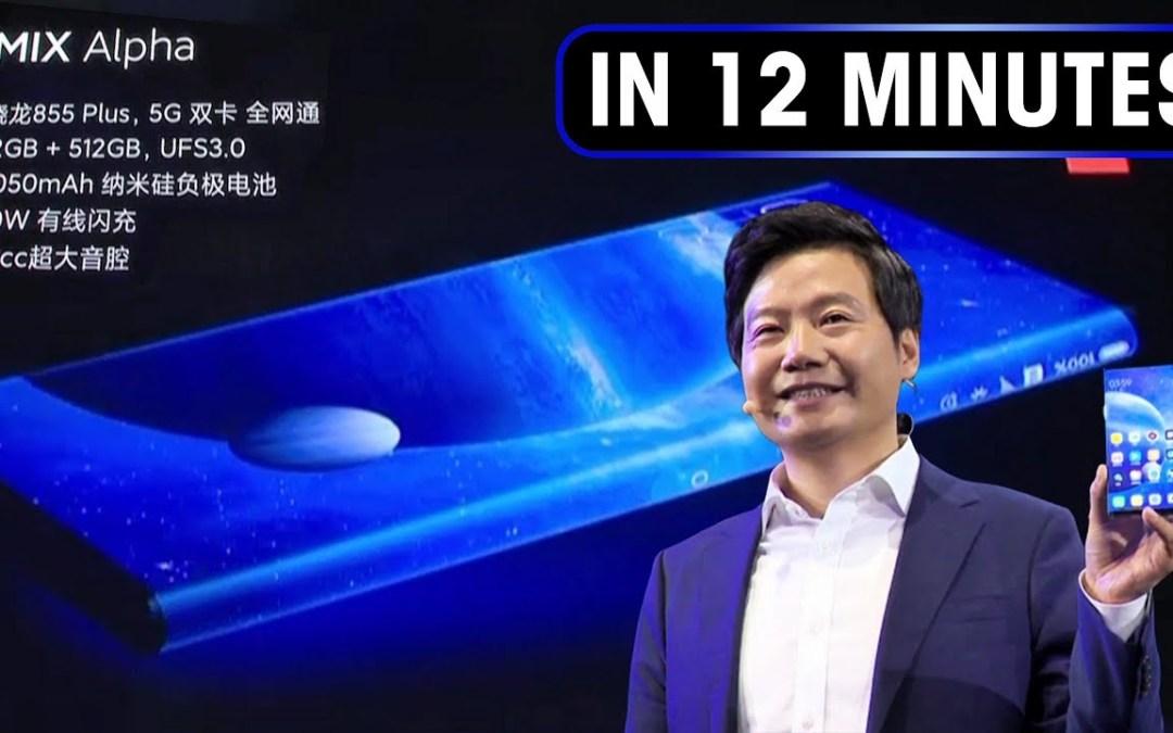 Xiaomi presenta su nuevo smartphone el Mi Mix Alpha