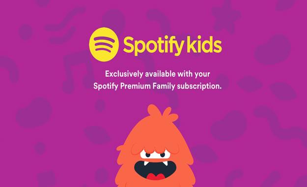 """Spotify ha anunciado la aplicación """"Spotify Kids"""""""