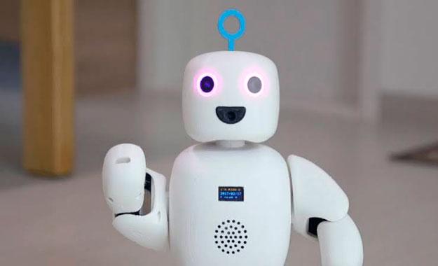 La compañía Circulus presenta el tierno robot acompañante piBo en el CES 2020