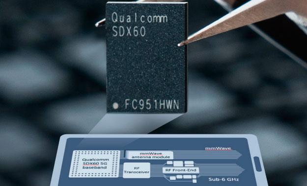 La mayor fabricante de chips Qualcomm presenta su nuevo módem 5G