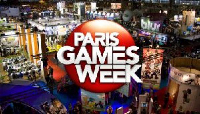 anúncios de jogos feitos na Paris Game Week 2017